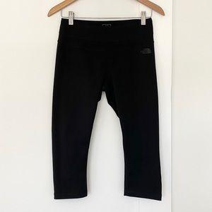 The North Face Black Crop Capri Length Leggings